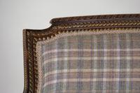 19th Century French Carved Walnut & Gilt Salon Settee (7 of 17)