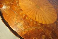 George III Two Tier Inlaid Mahogany Table (5 of 11)