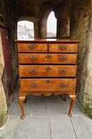 George II Walnut Chest on Stand (3 of 12)