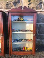 Pair of Antique Mahogany Shop Display Cabinets (3 of 8)