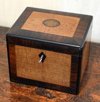 Fine French Box in Wenge, Rosewood & Ebony