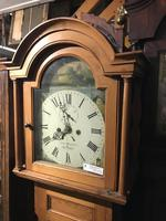 Cornish Pine 8 Day L. C clock owned by Footballer & Beverley Sisters (5 of 11)