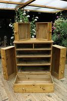 Gorgeous Old Pine Chest of Drawers (7 of 8)