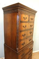 Antique Mahogany Chippendale Style Chest on Chest, Tallboy (2 of 15)