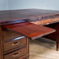 Large Partner's Desk (3 of 14)