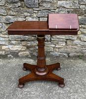 Victorian Mahogany Adjustable Duet Reading Stand (10 of 20)