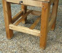 Vintage Butcher's Block on Stand (3 of 7)