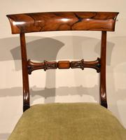 Set of Six William IV Rosewood Dining Chairs (6 of 8)
