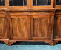 19th Century Victorian Mahogany Breakfront Bookcase (8 of 11)