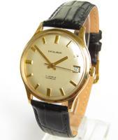 Gents 9ct gold Excalibur wrist watch, 1974 (2 of 5)