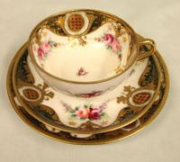 Noritake Porcelain Trio Cup Saucer & Plate (6 of 8)