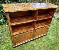 French Plum Pudding Mahogany Bookcase (3 of 8)