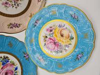 Vintage German Porcelain Plates / Chargers Bavarian /Set of Three (2 of 32)