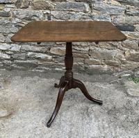 Georgian Oak Rectangular Tilt Top Occasional Table (8 of 16)