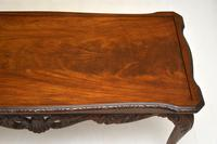 Antique Queen Anne Style Mahogany Coffee Table (7 of 8)