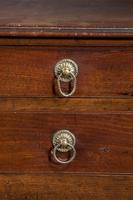 Chippendale Period 3 Drawer Mahogany Chest (4 of 5)