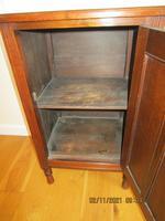 Edwardian Red Walnut Bedside Cabinet (7 of 8)