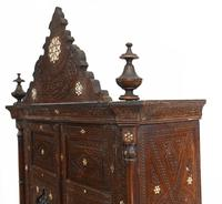Syrian Inlay Cabinet Bookcase Damascan Islamic Interiors c.1880 (13 of 14)