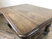 Early 20th Century Antique Oak Coffee Table (8 of 12)