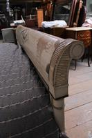 Lovely Original Painted French King Size Bed (2 of 8)
