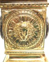 Good French Ormolu Cubed Classic 8 Day Striking Mantle Clock (7 of 11)