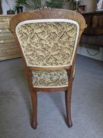 Set of Four Victorian Walnut Dining Chairs (6 of 6)