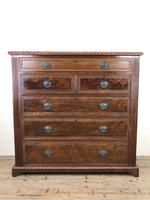 Large Late Victorian Mahogany Chest of Drawers (6 of 11)