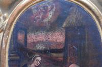 French School c1680 Nativity Oil on Canvas (8 of 9)