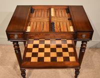 William IV Mahogany Games Table (9 of 13)