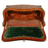 19thc Louis XV Style Marquetry Bureau en Pente (5 of 14)