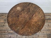 Georgian Oak Snap Top Table (3 of 8)