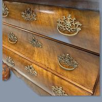 19th Century Dutch Walnut Chest of Drawers (8 of 10)