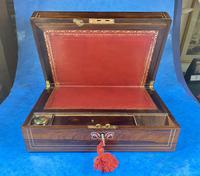 William IV Rosewood & Mother of Pearl Writing Slope (11 of 14)