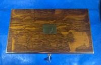 Victorian Brassbound Oak Decanter Box (2 of 20)