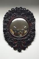 Outstanding Italian Mahogany Wall Mirror