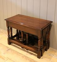 Solid Oak Nest of Tables (3 of 11)