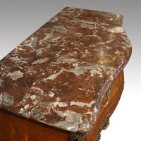 Continental Marquetry Bombe Commode Chest (11 of 14)
