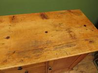 Victorian Rustic Antique Pine Sideboard Kitchen Unit (4 of 22)