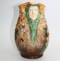 Fine & Large Royal Doulton Dickens Dream Novelty Jug by Noke c.1933 (4 of 10)