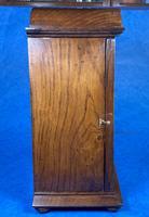 Victorian Oak Miniature Display Cabinet (8 of 11)