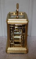 Bell Striking and Repeating and Alarm Gorge Case Carriage Clock (4 of 11)
