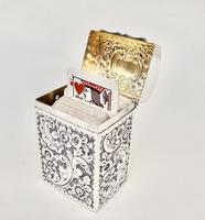 Victorian Silver Patience Card Box by Nathan & Hayes, Chester 1900 (4 of 11)