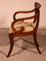 Regency Rosewood Chair Early 19th Century c.1811 (8 of 10)