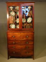 Good George III Period Mahogany Secretaire Bookcase (2 of 7)