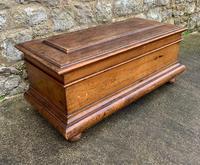 Beautiful 19th Century Blanket Box / Trunk (4 of 6)