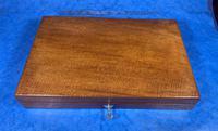 Victorian Mahogany Collectors Box (2 of 10)