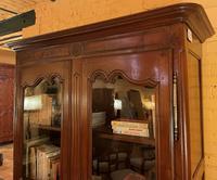 Louis XV Wardrobe with Glassed Door - 18th Century in Wild Cherrywood (9 of 11)
