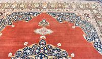Antique Tabriz roomsize carpet 397x302cm (3 of 8)