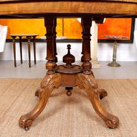 Walnut Marquetry Breakfast Table 19th Century (6 of 10)