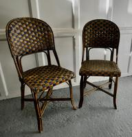 Pair of Endell Woven Cane Bentwood Chairs (5 of 6)